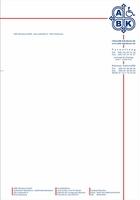 Briefbogen u. Gesch.aussttattung